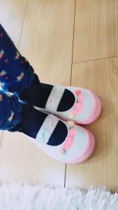 上靴(履いた)